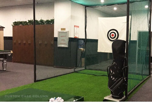 Hot Foldable Golf Practice Training Aid Golf Hitting Cage Practice Net Network