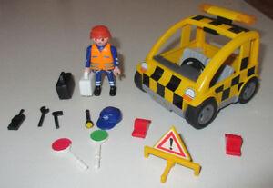 Playmobil Agent de signalisation de l'aéroport