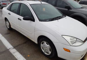 Selling 2002 Ford Focus for Scrap