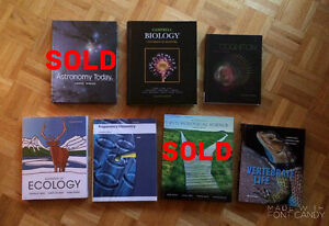 U of M Science and Psychology Textbooks For Sale!