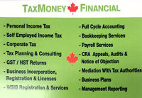 TAX/PERSONAL/CORP/BUSINESS/ UBER/TAXI/TRUCK/RENTAL/REALTORS