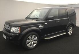 2013 BLACK LAND ROVER DISCOVERY 4 3.0 SDV6 HSE DIESEL AUTO CAR FINANCE FR £92 PW