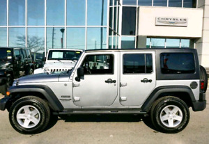 """Jeep Wrangler 17"""" rims and tires"""