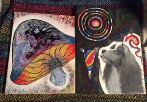 Trippy original paintings $300 each or both for $500