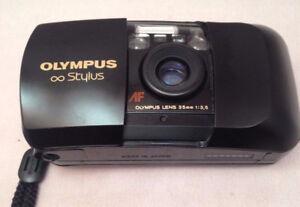 Classic  Olympus Stylus  1:3.5  film camera