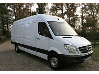 2013 (63) MERCEDES-BENZ SPRINTER 2.1TD 313 CDI LWB HI ROOF PANEL VAN