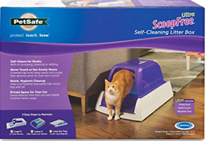 Pet safe ultra scoop free self cleaning