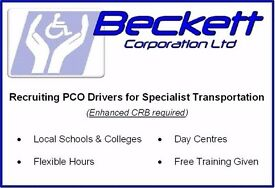 Part Time PCO Drivers required for school runs in Sutton, Wimbledon and Morden areas.