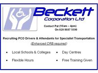 PCO Drivers required in Lewisham, Southwark, Greenwich, Bexley, Bromley and Croydon areas.