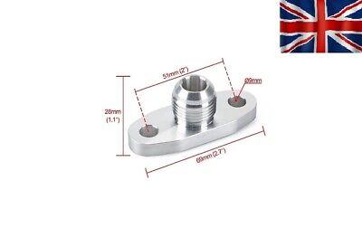 Billet Turbo oil return drain -AN10 fitting