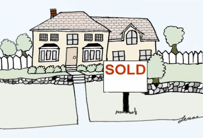 real estate realtor sold personalized cards thank you