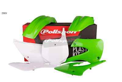 Polisport Complete Plastic Kit Set Green KAWASAKI KX85 2001-2013 kx 85