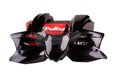 Polisport Complete Plastic Kit Set Black KAWASAKI KX450F 2012 kx 450f 450 kx450