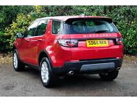 Land Rover Discovery Sport TD4 SE (red) 2016-09-29