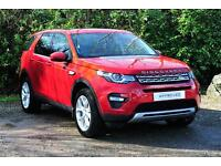 Land Rover Discovery Sport TD4 HSE (red) 2016-03-06