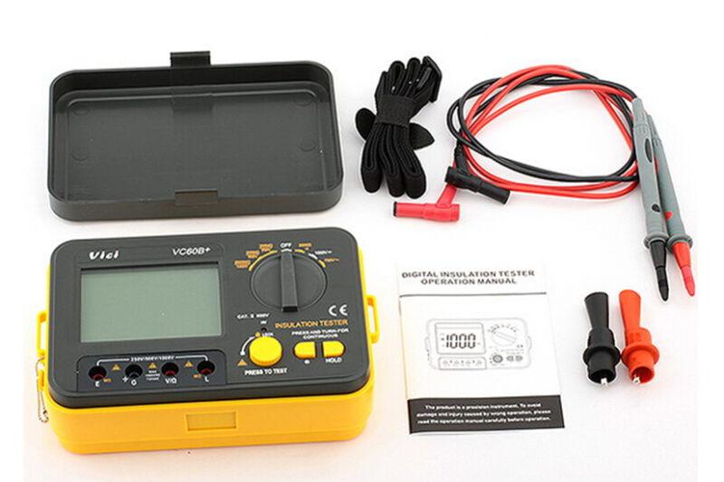 New !!! VC60B+ Digital Insulation Tester Megger MegOhm Meter