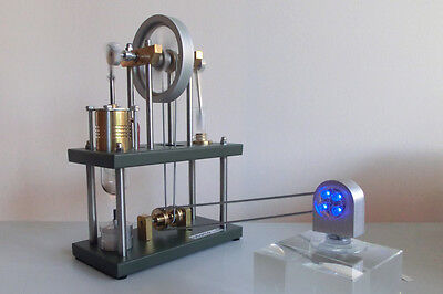 a310 Stirling Motor Ur-Stirling Engine LED Antriebsmodell Heißluftmotor