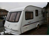 5 Birth touring caravan in GREAT condition