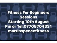Fitness For Beginners Classes