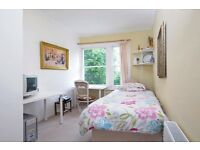 Ingle room in centre in a clean flat and safe area ideal for young professionals or students