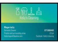 Kelly's cleaning services .