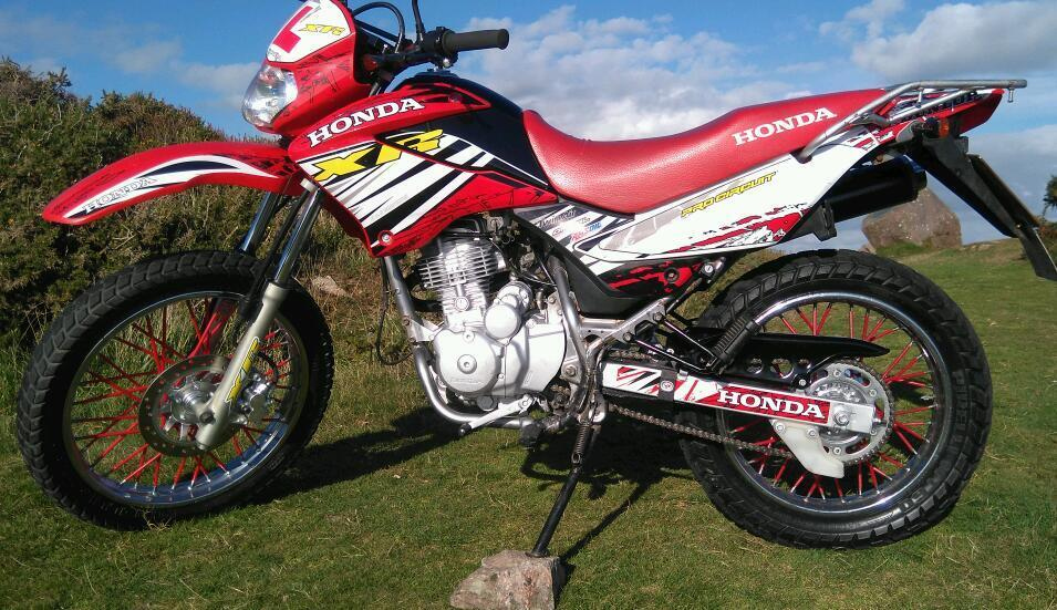honda xr 125 swap for bigger bike in swansea gumtree. Black Bedroom Furniture Sets. Home Design Ideas
