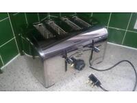 Breville four chrome toaster