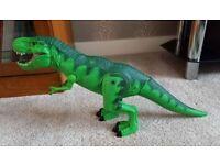 Roaring/walking dinosaur