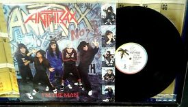 Anthrax – I'm The Man, VG, 12 inch single, released on Island Records in 1987, Cat No 12 IS 338.