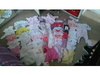 Newborn/0-3 girl baby clothes