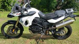 BMW F800GS 2001 6900km Marian Mackay Surrounds Preview