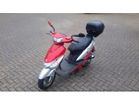 Peugeot V-Clic 50cc 2008 w/ Trunk | Full Service History | Very Low Mileage | Excellent Condition