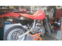 HONDA XR250R 1997 MODEL GREEN LANER