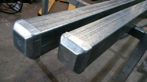 Fence Post 65 x 65 x 2400mm GALVANIZED Australian Made Gate support square Tube