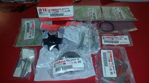 Yamaha OEM Water Pump Impeller Repair Kit for 60-90hp Outboards 692-W0078-02-00