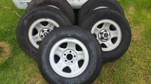 "Jeep cherokee Stock 15"" Wheels + Tyres Dandenong Greater Dandenong Preview"