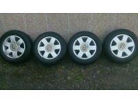 4 volkswagen alloy wheels