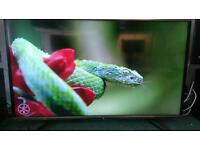 "65"" led 4k sharp television, 3D smart"