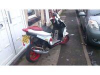 Piaggio nrg 50cc 59 plate