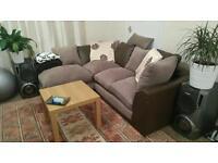 Corner sofa L shaped couch