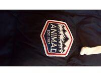Animal Men's Gilet - Men's small - Black - BRAND NEW - unworn, still with tags on