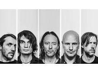 Radiohead Concert Tickets, Manchester Arena, 4/07/2017