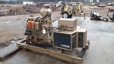 Kohler 75kw Diesel Standby Generator 386 Hours Auto Start