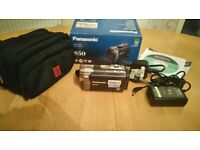 Panasonic sdr-s50 video camera