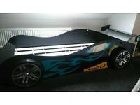 Boys racing car 3ft bed