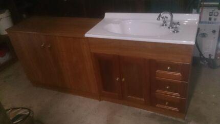 Bathroom vanity and linen cupboard  Riverton Clare Area Preview