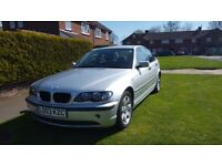 BMW 3 series for sale due to re-location. Good condition