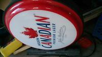 molson canadian sign