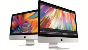 iMac 27 inch(Diagonal)  5K retina display ,16:9 widescreen ,Quad Core Intel i5 3.5 GHz  + Turbo Boost upto 4.1 GHz