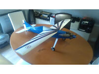 Remote Control Model Aeroplane complete with controller and accessories